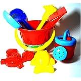 Creatif Ventures Plastic Super Summer Beach Set with Mini Sprinkler (Random Colour)