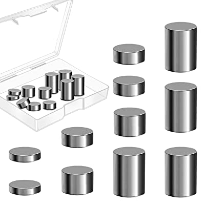 Ruisita 3 Ounce Tungsten Pinewood Derby Weights Tungsten Weights Pinewood Derby Car Weights Cylinders Weights in 4 Sizes to Make The Derby Car (3 Ounces): Toys & Games
