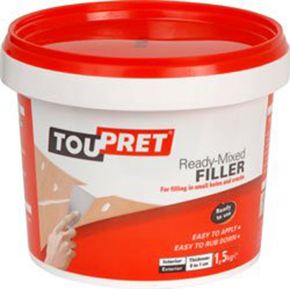 Toupret Ready Mixed Filler 1.5 kg GREAVES&CO