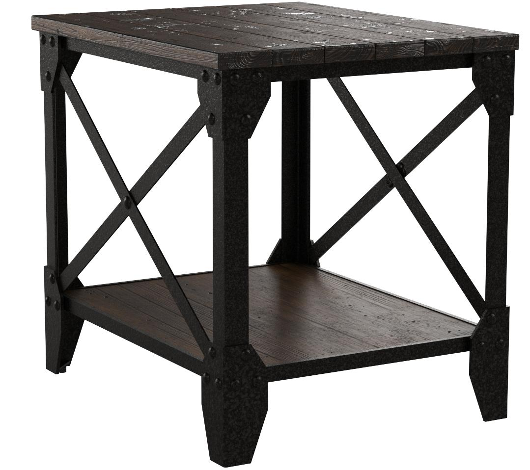 Magnussen T1755 Pinebrook Rectangular End Table