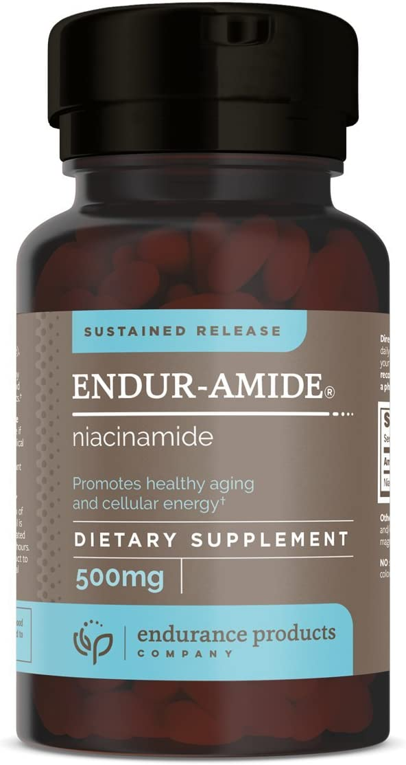 ENDUR-Amide Niacinamide Sustained Release, 500mg, 200 Tab