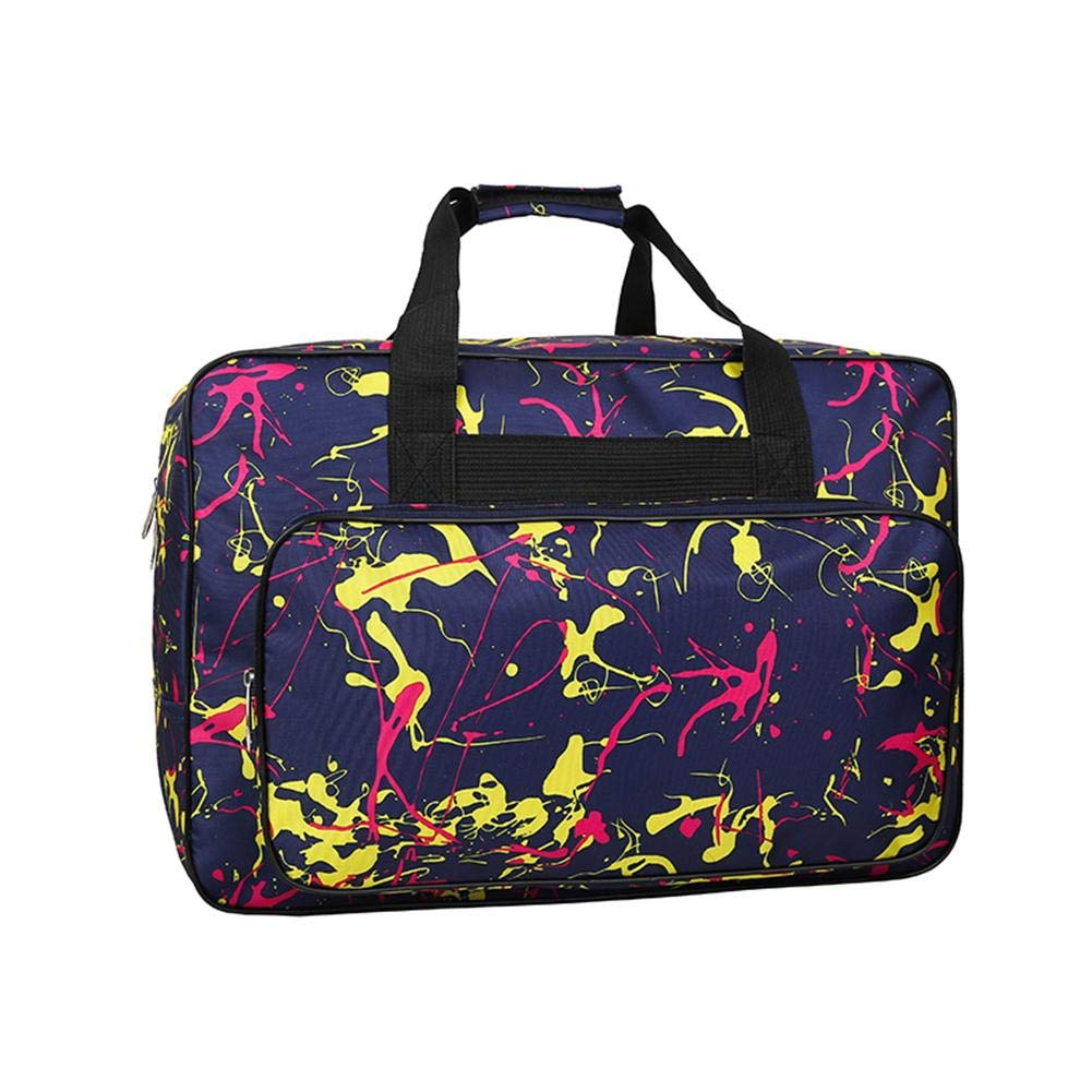 Large Capacity Sewing Machine Travel Storage Bags+Tool Bags Black ForU-1 Sewing Machine Carrying Case Tote Bag