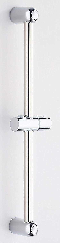 Shower Slider Riser Rail Chrome Shower Adjustable Head Holder Stainless Rail