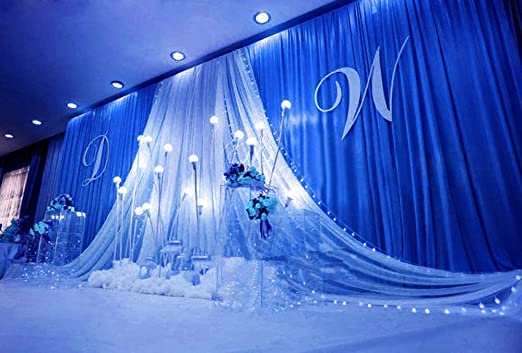 Ivory Wedding Backdrop Red Sequin Backdrop 3 6m Sequin Wedding Backdrop Curtain with Swag Decoration Romantic Ice Wedding Background Curtain Blue Wedding Swags