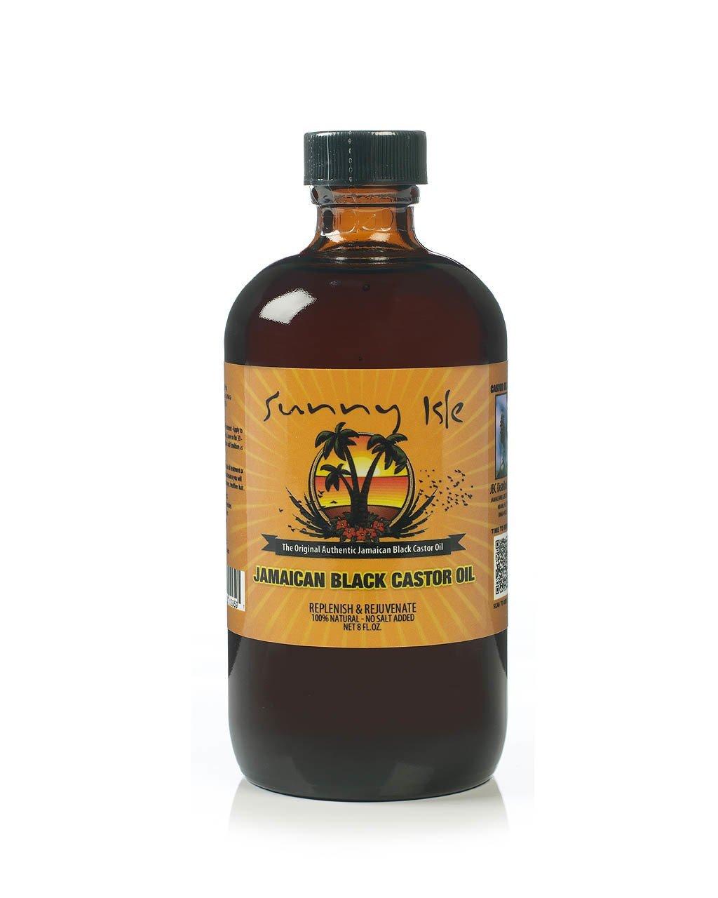 Sunny Isle Jamaican Black Castor Oil, Olio di ricino, circa 240 ml 25204