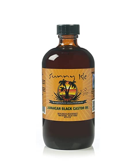 Sunny Isle – Aceite de castor negro jamaiquino 227 ml
