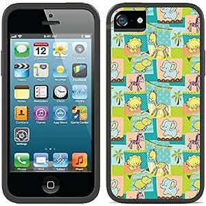 Coveroo iPhone 5/5S Black Switchback Case with Nursey Animals Design