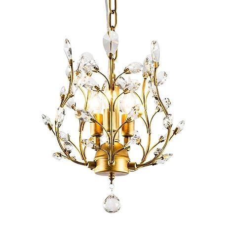 Amazon.com: Yby - Lámpara de techo con lámpara de araña de ...