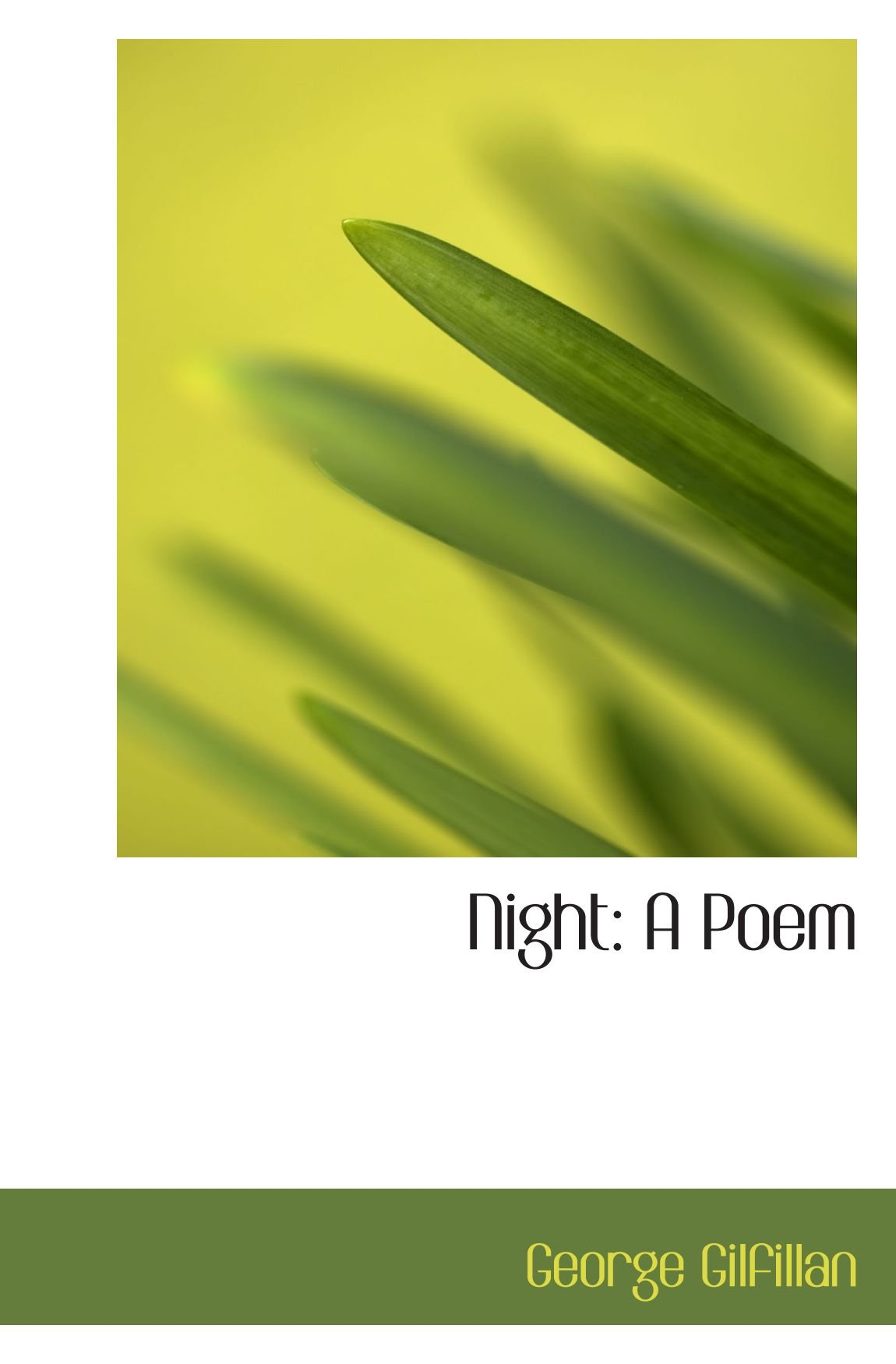 Night: A Poem pdf