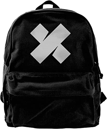 Maxwell Green Sam Backpacks Xplr Colby 16 High BY 12 Wide Black Canvas Daypacks
