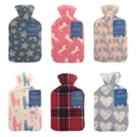 Lightweight Fleece Cover 2L Hot Water Bottle