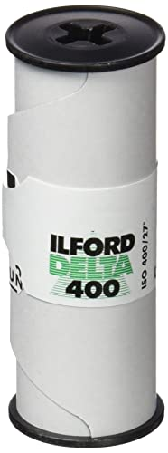 Ilford HAR1780668 400 Delta Professional 120 Film - White/Black