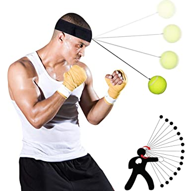 Amazon.com: Weiyun Decompression Toys Reflex Boxing Trainer ...