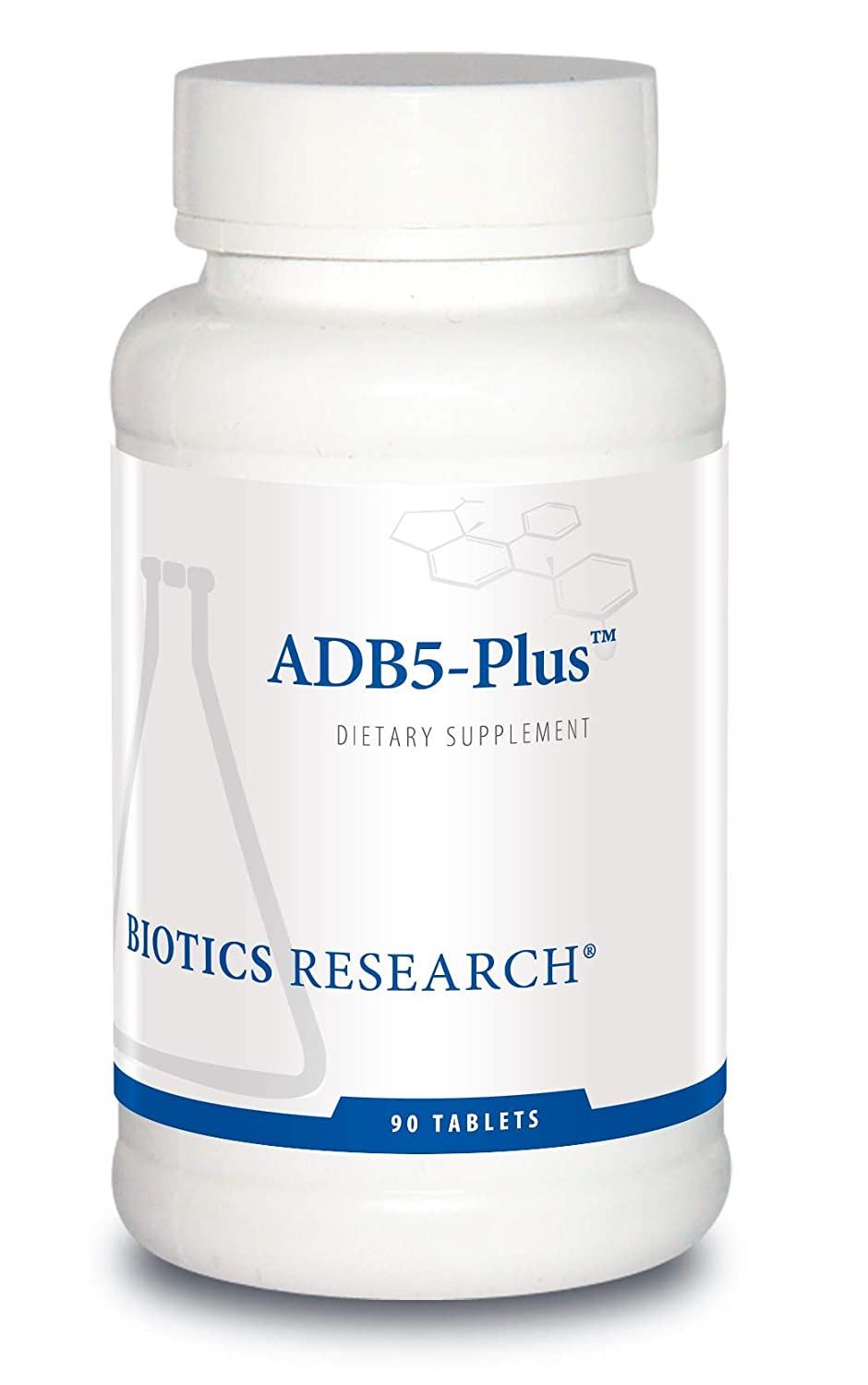 ADB5-Plus Adrenal Support Supplement – by Biotics Research 90 Tablets