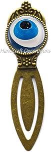 Simple Eye Bookmark,Charm Bookmark,Eye Bookmark, Dainty Bookmark,Art Jewelry Glass Jewelry Best Friend Bookmark.F247 (E2)