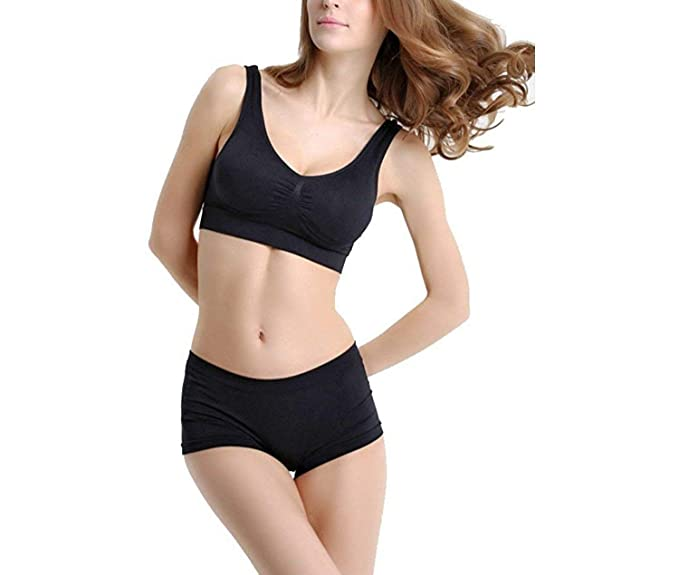 e216c165b7 Image Unavailable. Image not available for. Colour  ALBATROZ Seamless Non  Padded Set of Bra ...