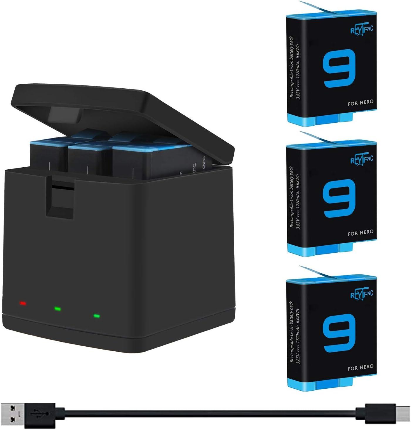 Hensych Repuesto para GoPro Hero 9 Black Desmontable Bater/ía Lado Inicio a prueba de Polvo Bater/ía Lateral Puerta Caso Tapa Tapa de Pl/ástico ABS Lateral Interfaz de Inicio