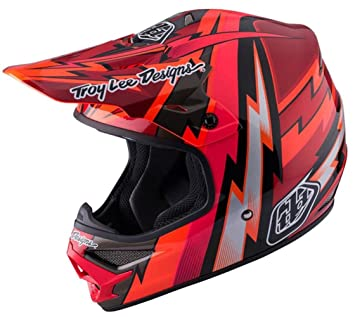 2017 Troy Lee Designs Air Beams Helmet-Red-XS