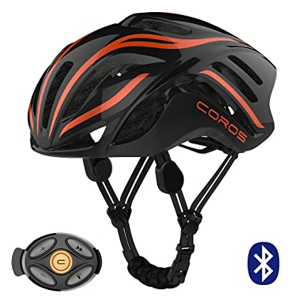 51acbc7f410 Coros Linx Smart Cycling Helmet w/Bone Conducting Audio | Fully Adjustable  Sizing/Connects via Bluetooth for Music, Calls and Navigation |  Comfortable, ...