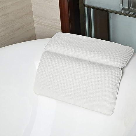 FZGZSW Almohada de baño SPA Impermeable Cojín de baño ...