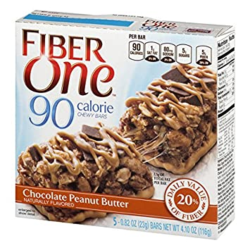 Fiber One 90 Calorie Bar, Cinnamon Coffee Cake, 6 Count 5.34 oz Boxes Pack of 8