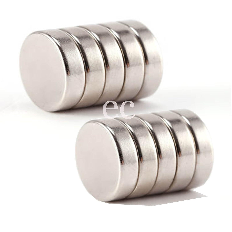 10 Neo Strong 5mm x 5mm Rare Earth Neodymium Disc Magnets N35 Grade