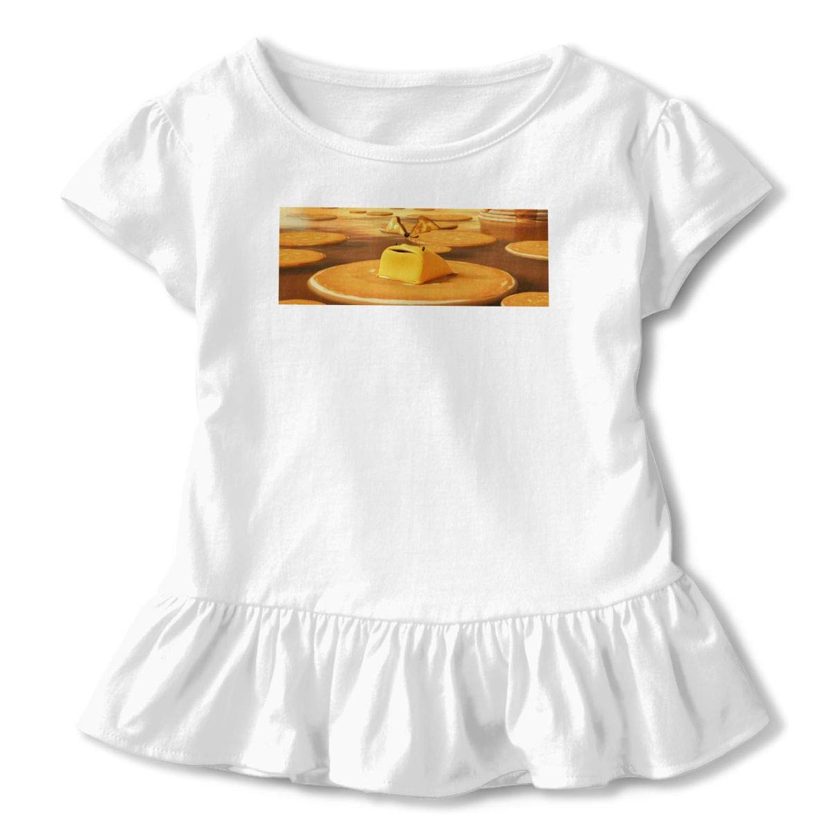 Rjmyys Personalized Cloudy with A Chance of Meatballs Funny Shirt O-Neck for Minor Black