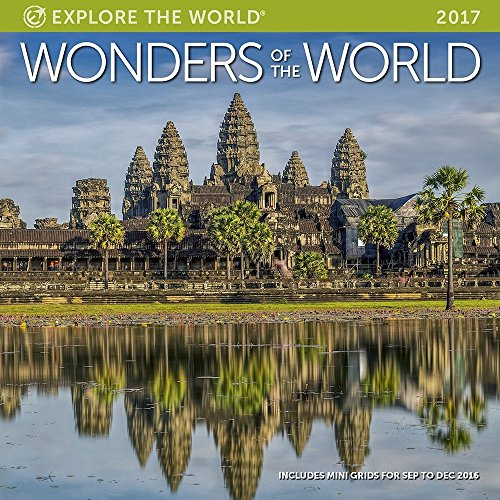 Wonders of the World Wall Calendar 2017