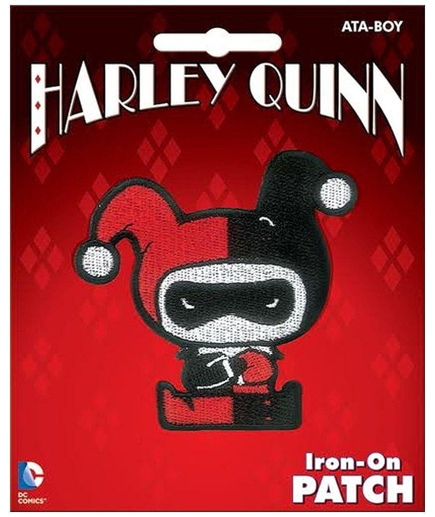 Ata-Boy DC Comics Harley Quinn Chibi 3 Full Color Iron-On Patch
