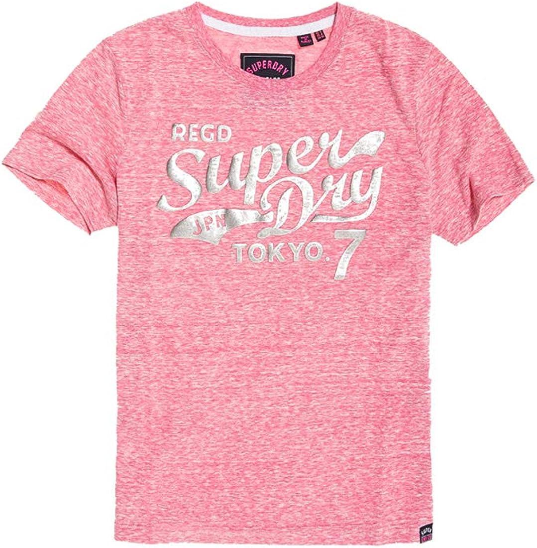 Superdry Sweat à capuche à logo métallisé texturé Tokyo 7