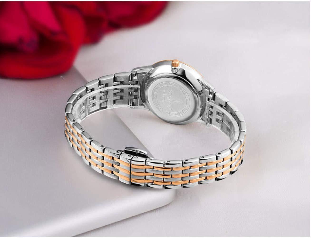 Armbandsur, rostfritt stål herrarmbandsur kvartsur Steel Black Surface