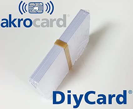 Pack 10 - Tarjeta pvc BLANCA - Ultralight C (MF0ICU2) ISO ...