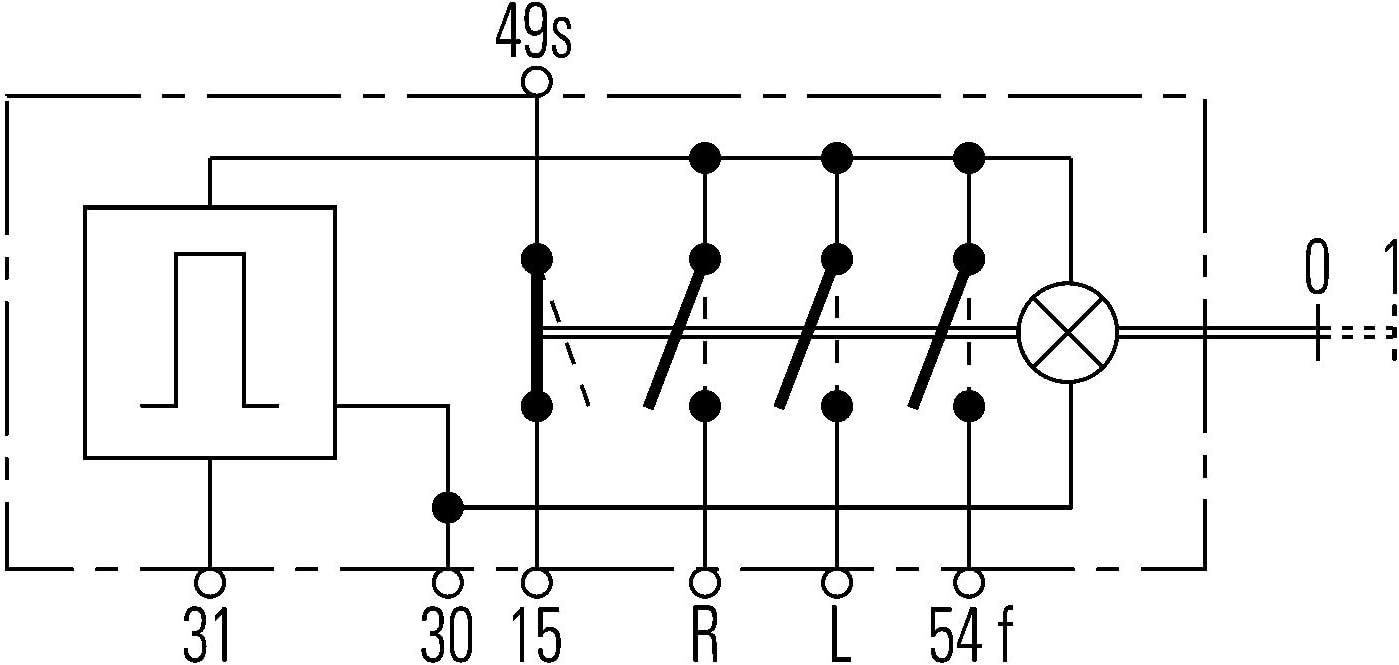 Hella 6hd 002 535 031 Warnblinkschalter Zugbetätigung 12v Einbau Kabel 600mm Mit Glühlampe Auto