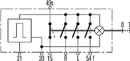 Hella 6hd 002 535 101 Warnblinkschalter Zugbetätigung 12v Einbau Kabel 600mm Mit Glühlampe Auto