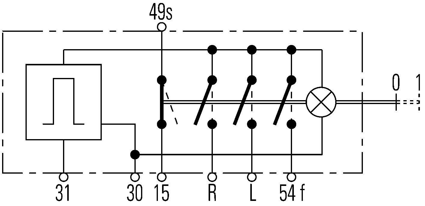 HELLA 6HD 002 535-031 Warnblinkschalter: Amazon.de: Auto