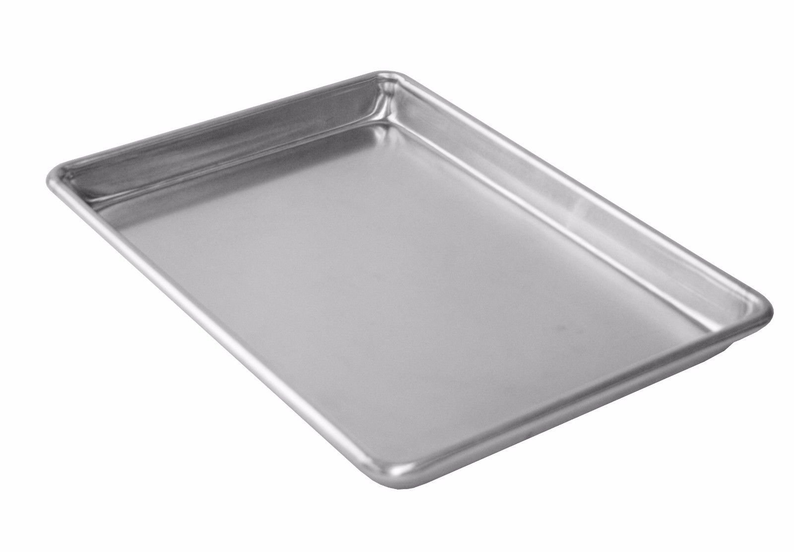 Commercial Aluminum Baking Cookie Sheet Pans 18 x 13 Half Size - 12 Pans NSF