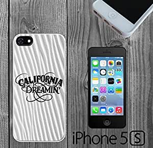 California Dreaming on Sand Custom made Case/Cover/skin FOR iPhone 5/5s