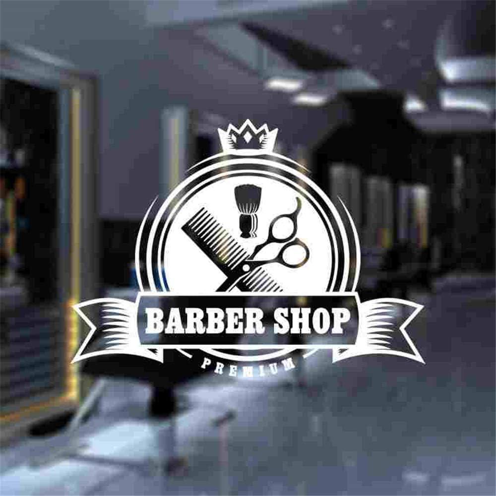 Hombre Barbería Pegatina Personalizada Chop Pan Decal Corte de ...