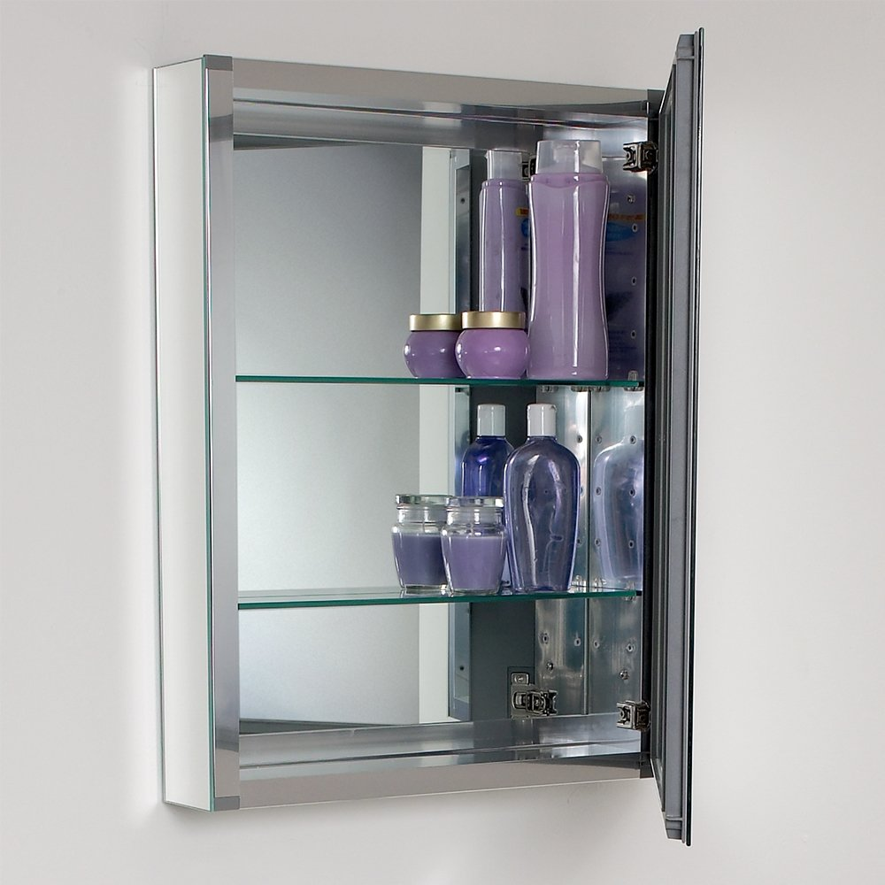 Amazon Com Fresca Wide Medicine Cabinet With Mirrors