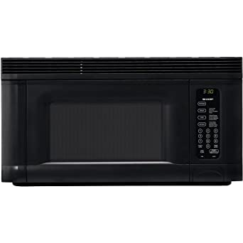 sharp over the range microwave. sharp r-1405 950-watt 1-2/5-cubic-foot over the range microwave c