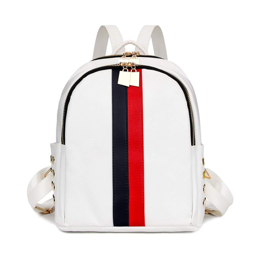 Artwell Women Backpack Purse Cute Mini Leather Rucksack Fashion Small Daypacks Travel Shoulder Handbag for Girls