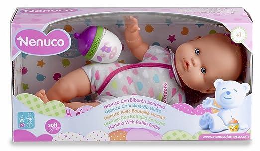 6 opinioni per Famosa 700012087- Nenuco Bambola con Biberon e Vestito Grigio