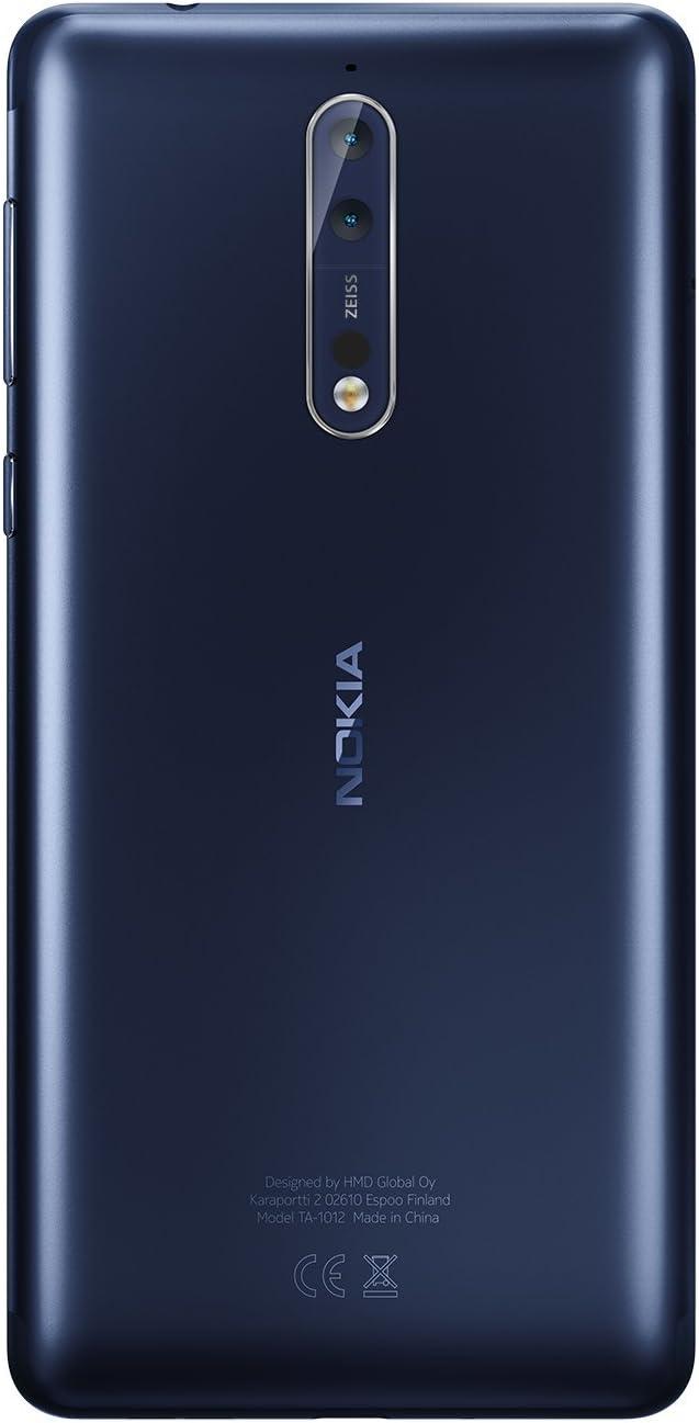 Nokia 8 Single SIM - Smartphone, 13,5 cm (5.3