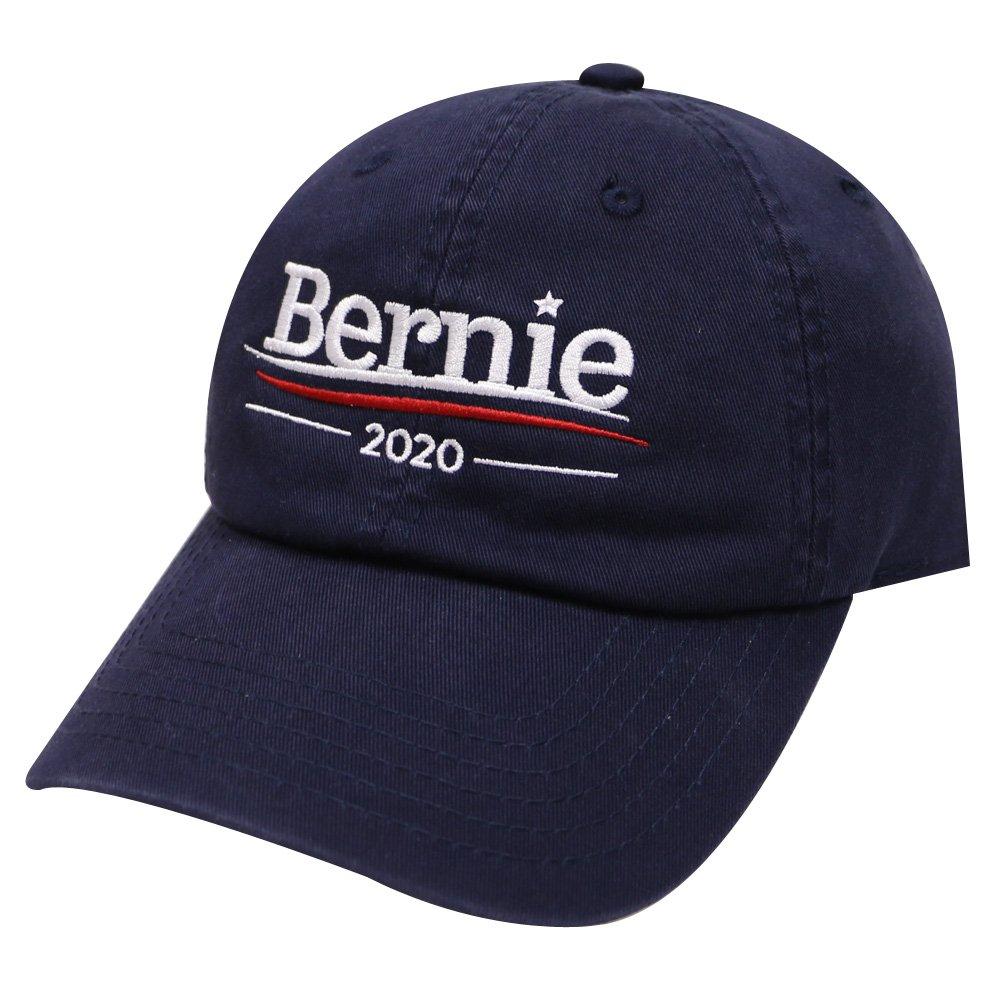 City Hunter Unisex C104 Bernie Sanders 2020 Cotton Baseball Cap In Navy fba- c104-bernie2016-nv 80fdac6ffbfd