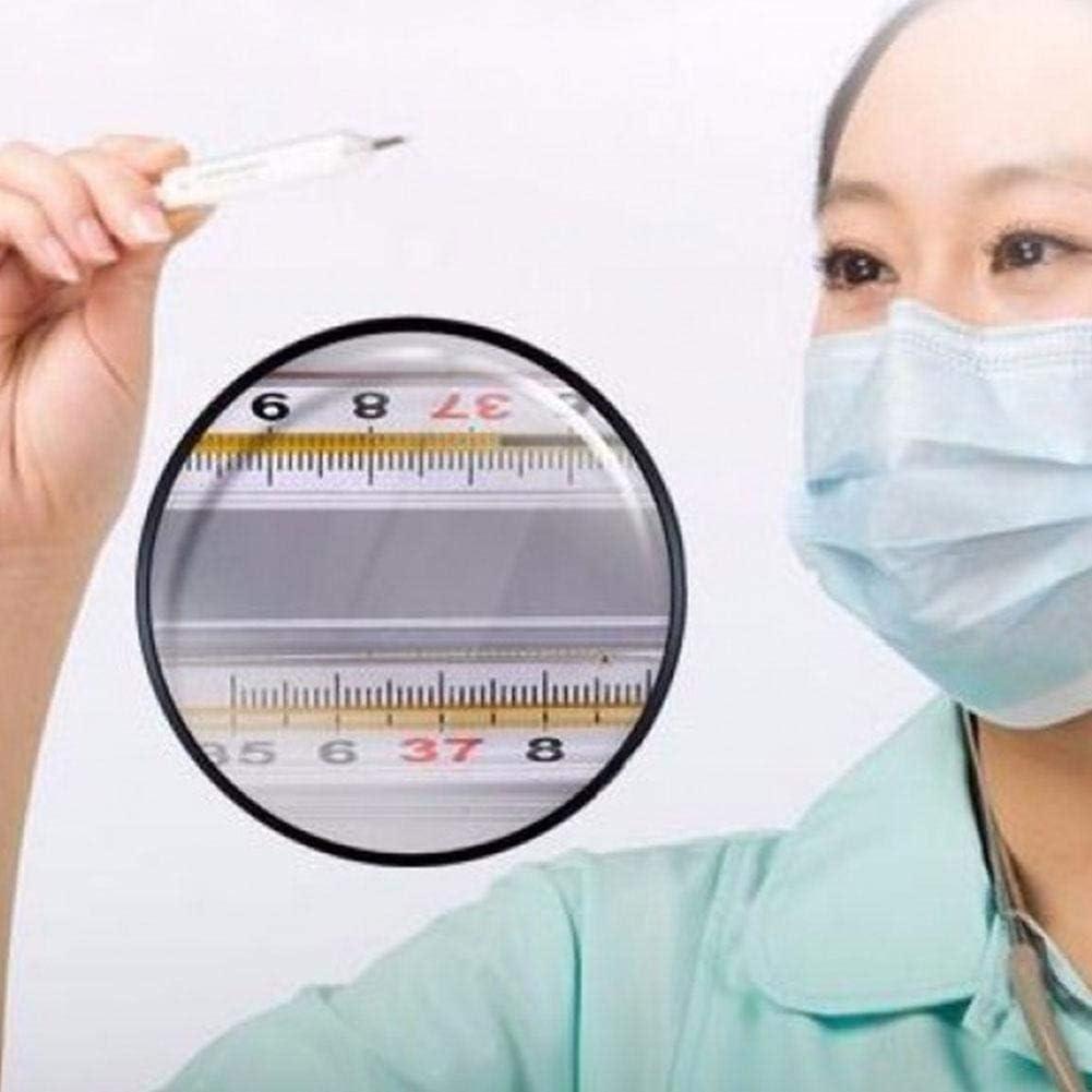 LIANA IRIWN 2//5//10 St/ücke Fieberthermometer ohne Quecksilber Traditionelle klinische Genauigkeit von Glas
