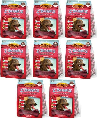 Zukes Z-Bones Edible Dental Chews Large Cherry Berry 7.5lb