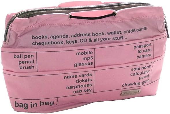 Coaban Zip Bag in Bag Rose: : Chaussures et Sacs