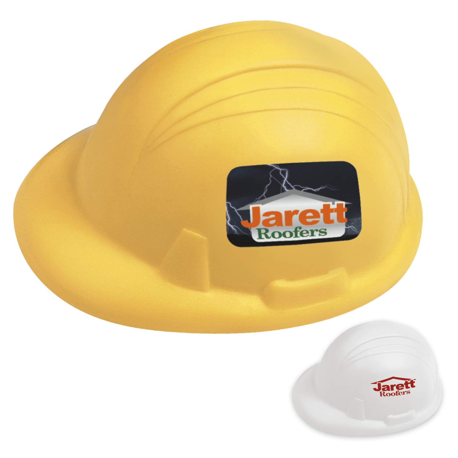 BIC Graphic Hard Hat Stress Ball Yellow 1000 Pack