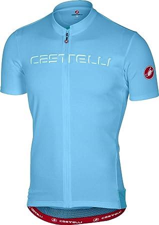 Castelli 2017 メンズ Prologo 5 半袖サイクリングジャージー - A17019 6aaafb729