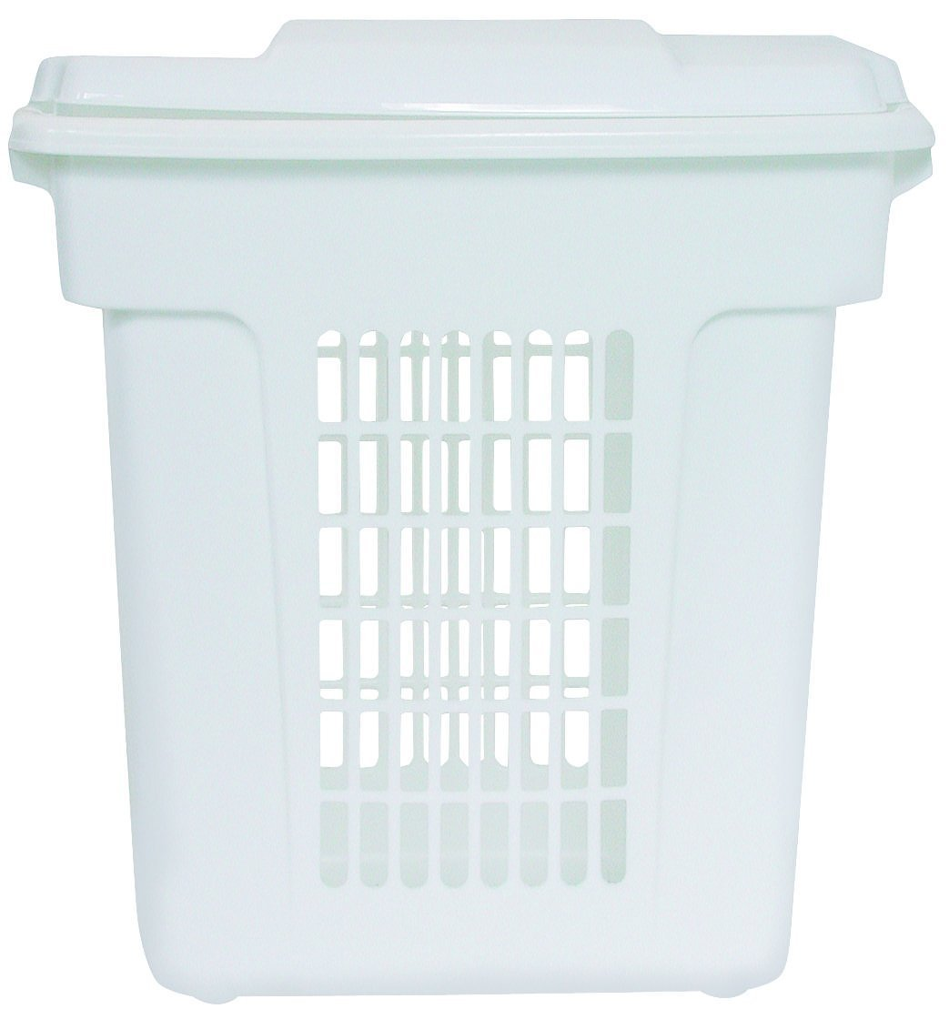 Rubbermaid Through-Handle Laundry Hamper,1-Piece (FG299000WHT)
